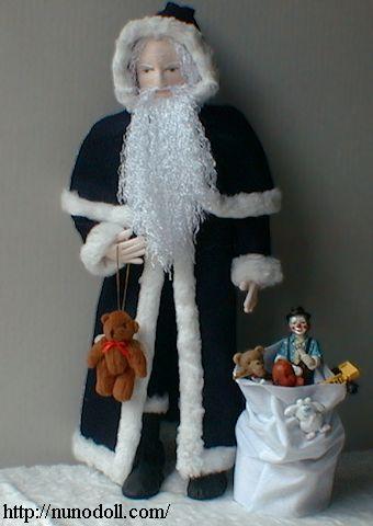 Slim Santa Claus Doll